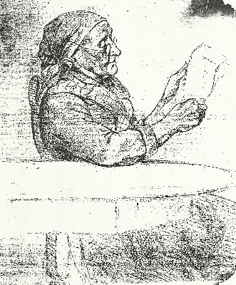 Hortense Wood - One of her sketches